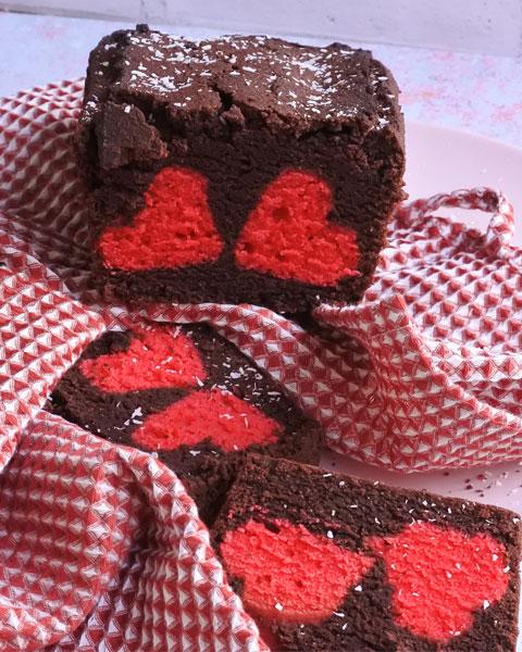 plumcake di s.valentino